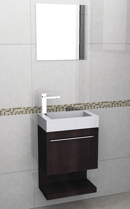Muebles Para Baño Castel:mueble para baño coruña 50 teka mueble de 50 x 28 5 x 65 color teka