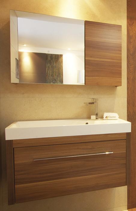 Muebles Para Baño Castel:mueble para baño teruel 80 cerezo mueble de 80 x 37 x 47 color cerezo